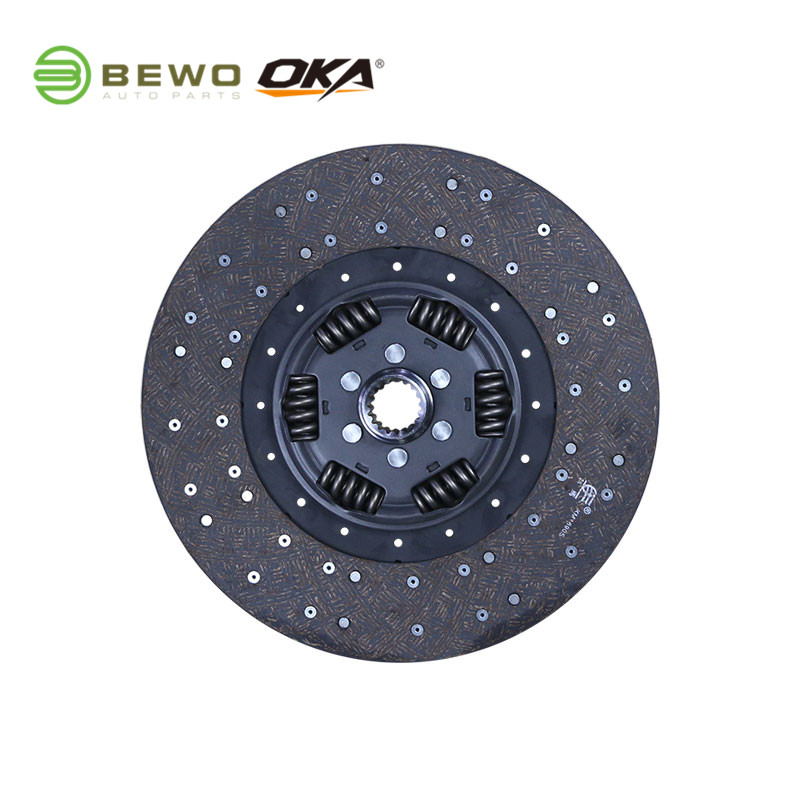 SACHS 1878023831 OEM-дизайн OKA / BEWO Heavy Duty Truck Диск сцепления 395Mm для BENZ axor 2 atego 2 с отличной ценой